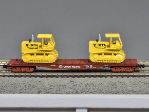 Roller Bearing Buckeye Trucks for Marklin flatcar  in Smooth Fine Detail Plastic