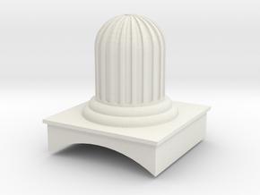 EB Wilson 'jelly mould' dome in White Natural Versatile Plastic