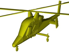 1/87 scale Kaman K-1200 K-MAX helicopter in Smooth Fine Detail Plastic