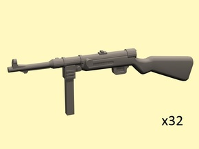 1/35 MP-41 in Smoothest Fine Detail Plastic