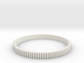 Follo Focus Ring for Leica Summicron R 90mm f2,0 in White Natural Versatile Plastic