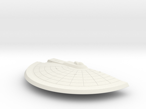 1/1400 Spokane Class Right Saucer in White Natural Versatile Plastic