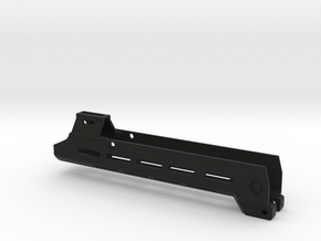Masada handguard V2 long w/no rail (HPA) in Black Natural Versatile Plastic