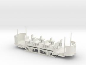 Wismar 1919 Bw Offen UT H0 16,5 in White Natural Versatile Plastic