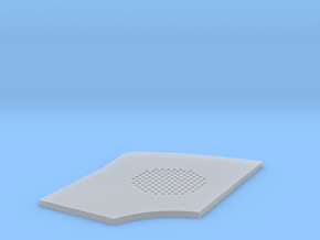 Holes-template in Smooth Fine Detail Plastic