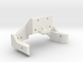 B1M rear bulkhead in White Natural Versatile Plastic