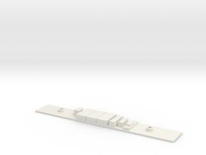 Chasis A S5000 Metro Madrid Underground 1:160 in White Natural Versatile Plastic