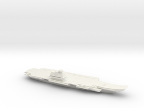 1/1800 Scale  Russian Aircraft Carrier Ulyanovsk in White Natural Versatile Plastic