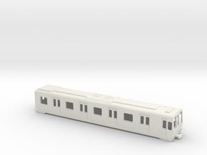 Carcasa S5000 Metro Madrid Underground AC 1:160 in White Natural Versatile Plastic