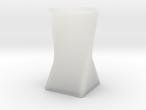 Twist Cup II in Smooth Fine Detail Plastic