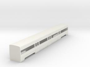 UT 447 Central Cercanias Renfe 1:160 in White Natural Versatile Plastic