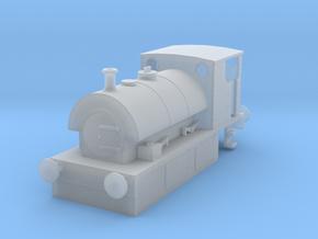 b-152fs-guinness-hudswell-clarke-steam-loco in Smooth Fine Detail Plastic