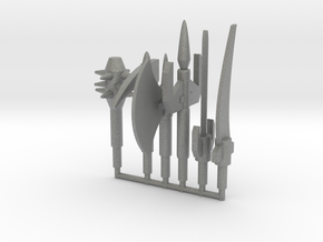 Dinoforce Melee Weapons in Gray PA12: Small