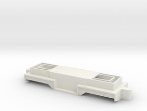 16mm Scale PHR 4 Chassis in White Premium Versatile Plastic