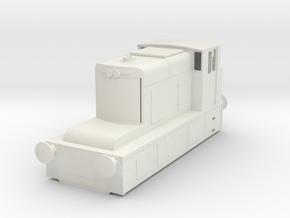 b-87-guinness-hudswell-clarke-diesel-loco in White Natural Versatile Plastic