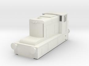 b-76-guinness-hudswell-clarke-diesel-loco in White Natural Versatile Plastic