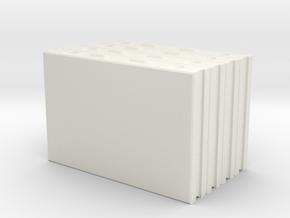 AAC Block E150-648 X4 in White Natural Versatile Plastic