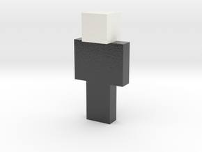street | Minecraft toy in Glossy Full Color Sandstone