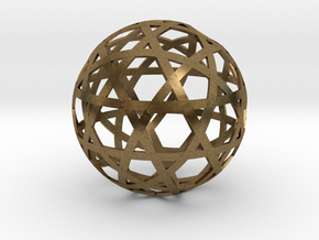 Stripsphere12b in Natural Bronze
