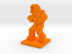 PixFig: Belmont in Orange Processed Versatile Plastic
