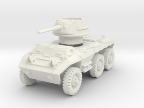 M8 Greyhound (no skirts) 1/100 in White Natural Versatile Plastic