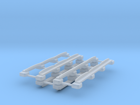 00 Scale Plateway Track in Smooth Fine Detail Plastic