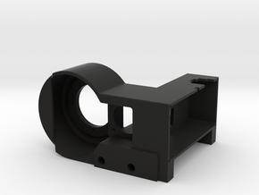 Dual Channel Commutator Housing in Black Natural Versatile Plastic