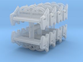 Park Bench (x8) 1/144 in Smooth Fine Detail Plastic
