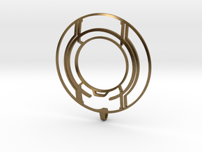 TRON: Legacy Identity Disk - Negative Space in Natural Bronze