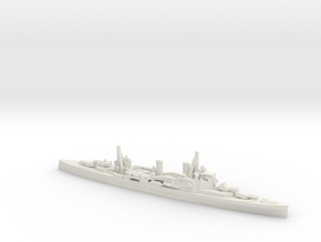 British London-Class Cruiser in White Natural Versatile Plastic