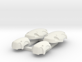PADS MGS1 1:6 scale in White Natural Versatile Plastic