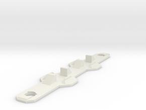 SK-6x6SwitchHolder in White Natural Versatile Plastic
