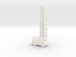 Lost in Space - J2 Landing Pad Scaffold A in White Processed Versatile Plastic
