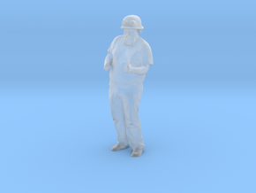 Printle C Homme 1643 - 1/48 - wob in Smooth Fine Detail Plastic