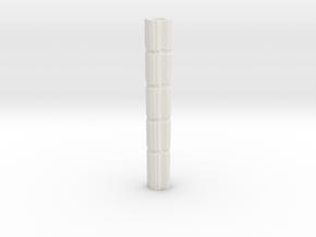 Long Axe - 4 Pieces, Part 4/4 in White Natural Versatile Plastic