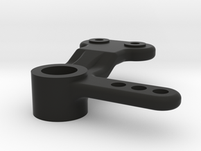 Kyosho Rocky Steering Bellcrank (Modified for regu in Black Natural Versatile Plastic