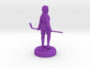 Hockey Tribute Princess Shaye in Purple Processed Versatile Plastic