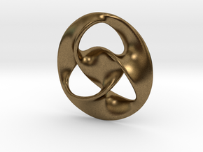 All is one  ( pendant ) in Natural Bronze
