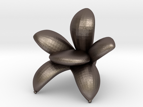 """Getsuen 1/2"""" Scaled in Polished Bronzed Silver Steel: 1:24"""