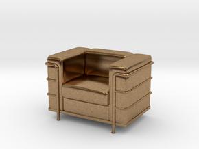 Le-Corbu-Sofa-Mini-03 in Natural Brass