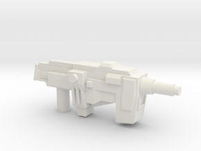 Transformers WFC Siege Neutron Assault Rifle in White Natural Versatile Plastic
