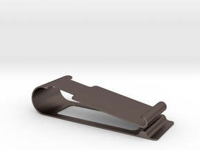notebook clip in Polished Bronzed-Silver Steel