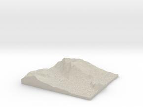 Model of Prod in Natural Sandstone