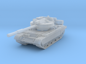 T-62 M Tank 1/160 in Smooth Fine Detail Plastic