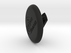 OpenBeacon Tag Clip in Black Natural Versatile Plastic