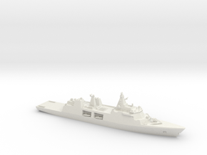 Type 31 Frigate in White Natural Versatile Plastic: 1:700