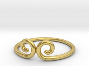 Gold Hoop _ Monkey King in Polished Brass: 9 / 59