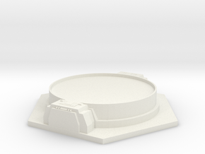 Outpost - Expansion Module in White Natural Versatile Plastic