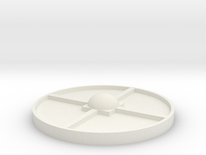 Outpost - Agriculture Pod Module Top in White Natural Versatile Plastic