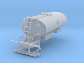 1/64th Asphalt Tank Sprayer body 2500 Gallon in Smooth Fine Detail Plastic